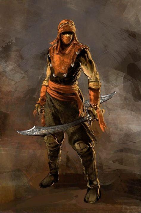 Edited Desert Warrior Riagraba Pinterest Fantasy