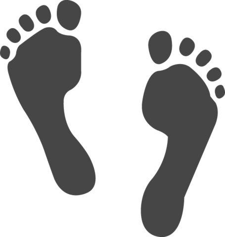 Image result for footstep emoji icon