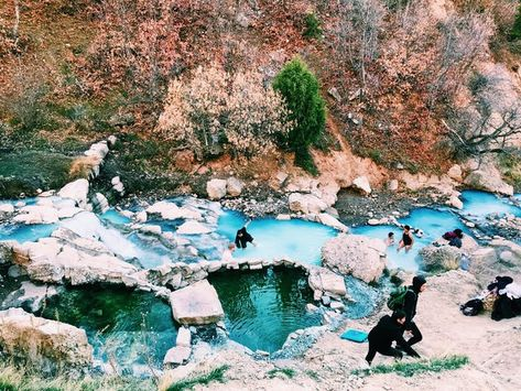 This Epic Utah Hot Spring & Hike is An Hour from Salt Lake City