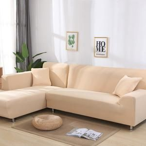 Solid Color Stretschable Sofa Covers Modernhaus Republik In 2020 Sofa Covers Corner Sofa Covers Sectional Sofa Couch