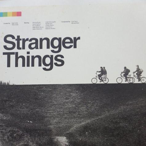 Stranger Things - 2016 Concepcion Studios Poster