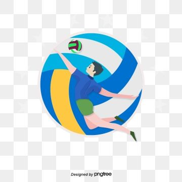 Volleyball Logo Png Volleyball Volleyball Designs Cartoons Png