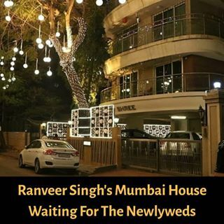 Ranveersingh S Mumbai House Is All Set To Welcome The New Tellybeats Deepveer Deepveerwedding Deepveerkisha Deepika Padukone Deepika Ranveer House