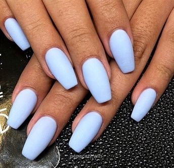 Nails Summer Time Colours 2020 Matte Periwinkle Diy Acrylic Nail Designs For Summer Season Nail Designs Summer Acrylic Summer Nails Colors Coffin Nails Matte