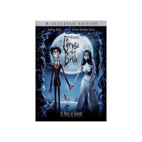 Dvd Cover For Corpse Bride Liked On Polyvore Featuring Movies
