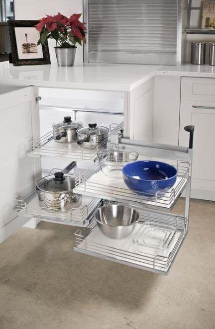 54 Ideas Kitchen Corner Cabinet Dead Space For 2019 Corner Kitchen Cabinet Kitchen Cabinet Accessories Kitchen Corner