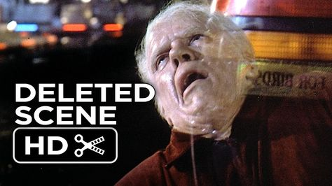 Back To The Future Part Ii Deleted Scene Old Biff Vanishes 1989