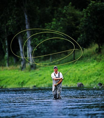 Image result for fly fishing Casting