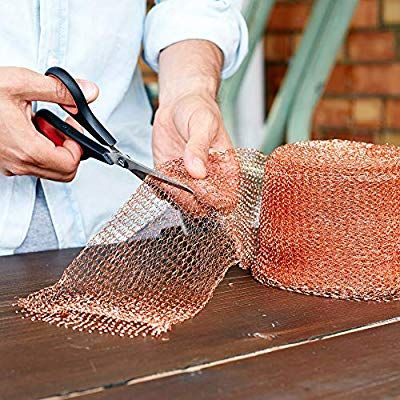 Amazon Com Nordstrand 50ft 5in Copper Mesh Pest Control Rodent Proof Copper Wire Wool Roll Fill Fabric Screen Getting Rid Of Mice Pest Control Mouse Rat