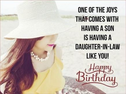 Quotes Birthday Daughter In Laws 59 Ideas Birthday Daughter In Law Birthday Wishes For Daughter Daughter In Law Quotes