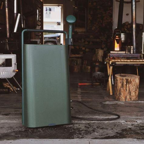 ずっと探していた お湯が出せる道具 Erif Outdoor Gas Boiler エリフ アウトドアガスボイラー 特別インタビューvol 2 焚火をテーマにしたアウトドア専門店として多くのファンが集まる店舗ilbfの店主 堀之 Trash Can Tall Trash Can Home