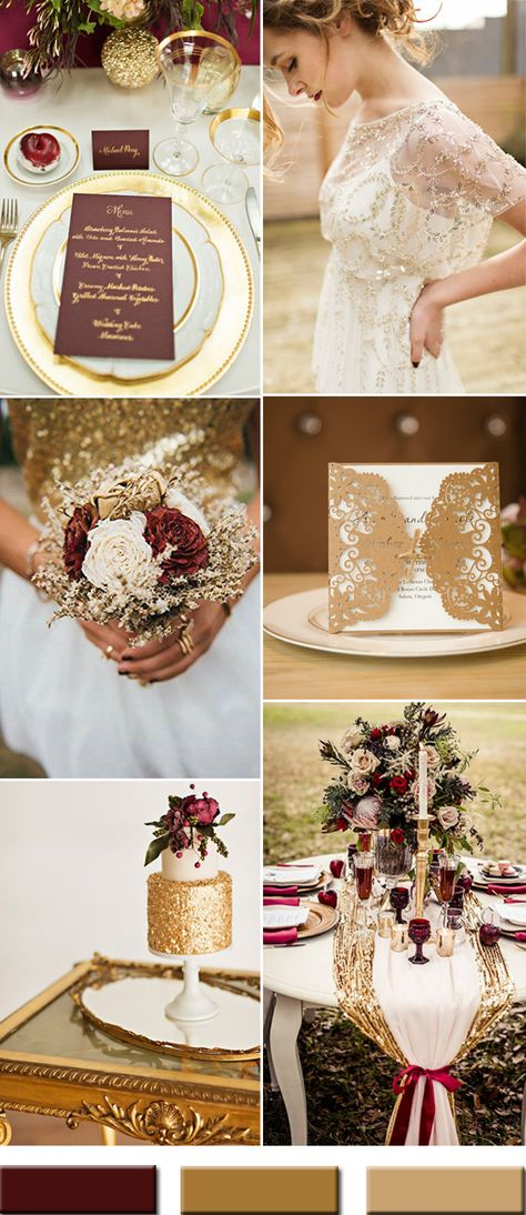 2017 the Best Gold Wedding Colors Combos Trends – Stylish