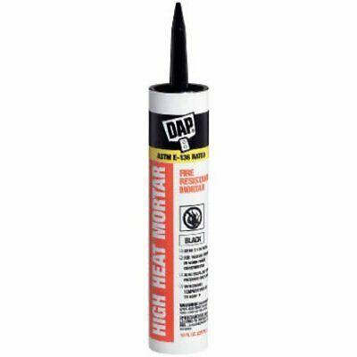 Sponsored Ebay Dap 7079818854 High Heat Mortar Fire Stop Caulk Black In 2020 Fireplace Mortar Sealant Mortar