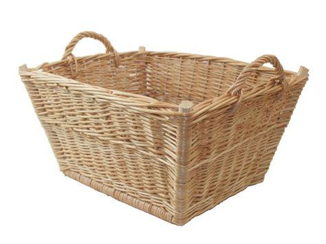 Wäschekorb aus Weide. Korb für Wäsche, Spielzeug, etc.