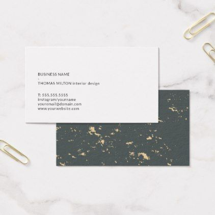 Modern Minimal Abstract Consultant Networking Business Card - Networking business card template