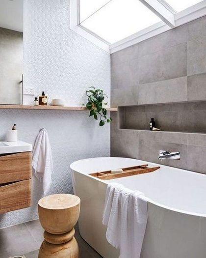 67 Relaxing Scandinavian Bathroom Designs In 2020 Scandinavian Bathroom Scandinavian Bathroom Design Ideas Grey Bathroom Tiles