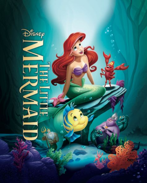Grab your dinglehoppers! The Little Mermaid Diamond Edition is coming to Blu-ray Combo Pack and HD Digital 10/1! Pre-order your copy.