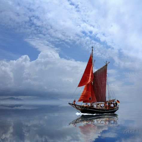 Red Sail - Image by Caras Ionut