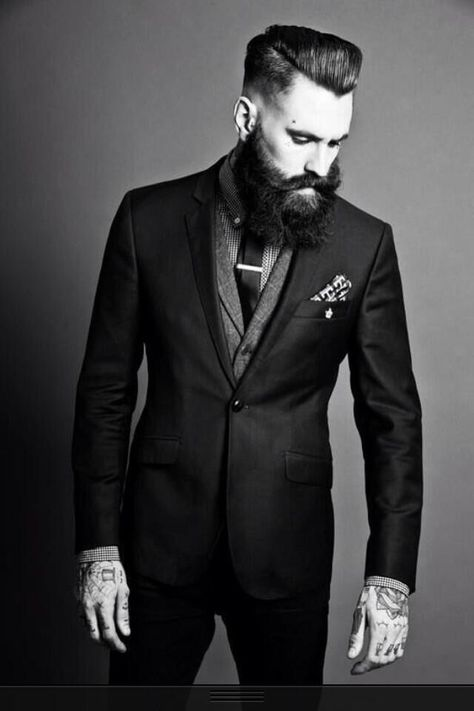 beard and style