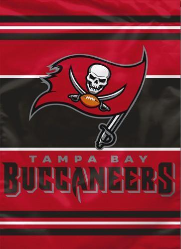 Tampa Bay Buccaneers Official Premium 28x40 Nfl Team Banner Bsi Products Tampa Bay Buccaneers Tampa Bay Buccaneers Football Buccaneers