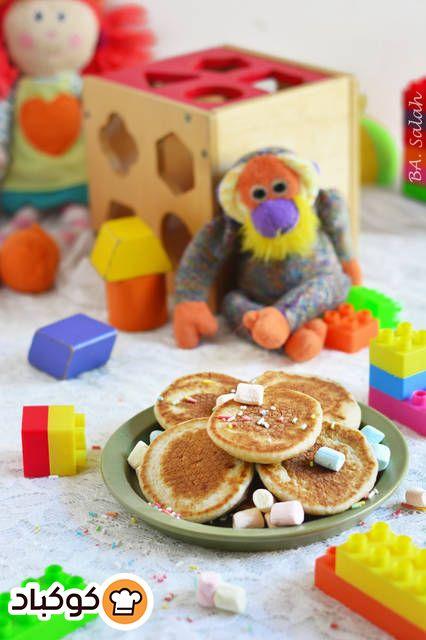 بان كيك صحي للاطفال بالصور من بتول صلاح Recipe Desserts Food Breakfast