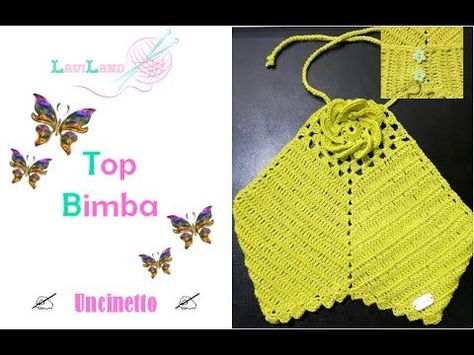Top Bimba Uncinetto Baby Top Crochet Youtube Cloth
