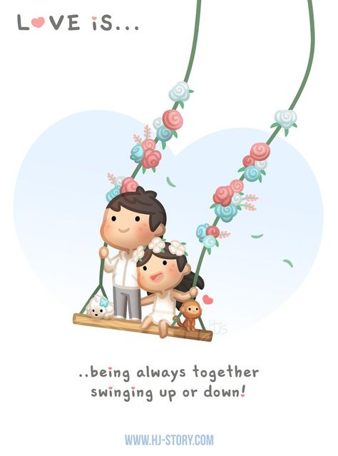 Love is… Swinging Up and Down - HJ-Story