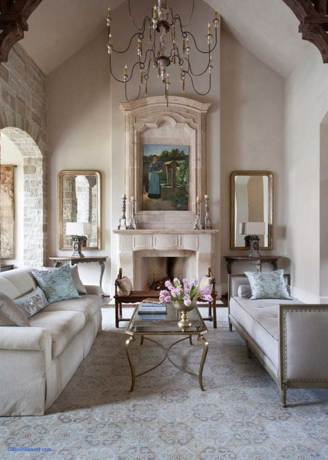 Living Room Ideas: French Apartment Decor Country Cottages