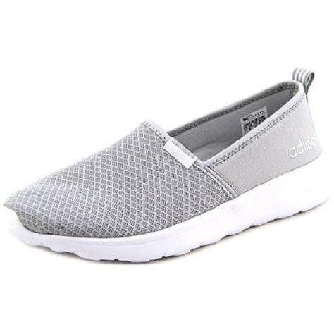adidas NEO Womens Lite Racer Slip on W Fashion Sneaker Clear ...