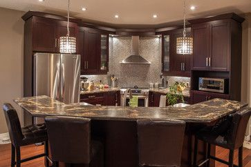 Kitchen Photos Angled Islands Design  Pictures Remodel Decor and Ideas page 3 For the Home Kitchens Pinterest Island design