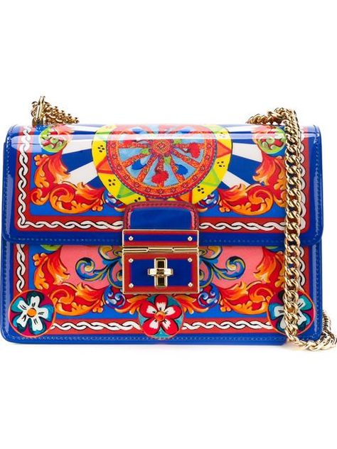 09fc4ee553ff Dolce   Gabbana Carretto Siciliano  Rosalia  crossbody bag