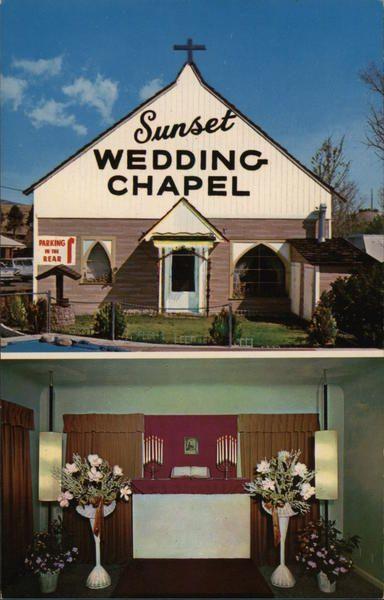 Sunset Wedding Chapel In 2020 Chapel Wedding Nevada Wedding Sunset Wedding