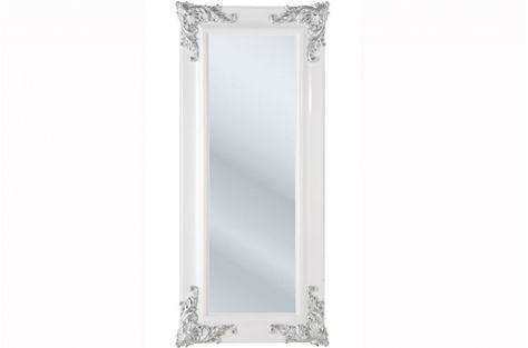 Grand Miroir Kare Design Baroque Blanc Miroir Kare Design