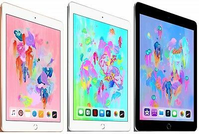 Details About New Sealed Apple Ipad 6th Gen 32gb 128gb Gray Gold Silver 9 7 Wifi 2018 Ipad 6 Apple Ipad Apple