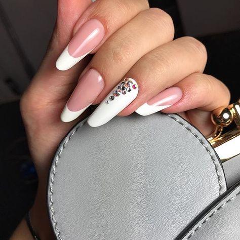 nails #nails #almond #russianalmond...