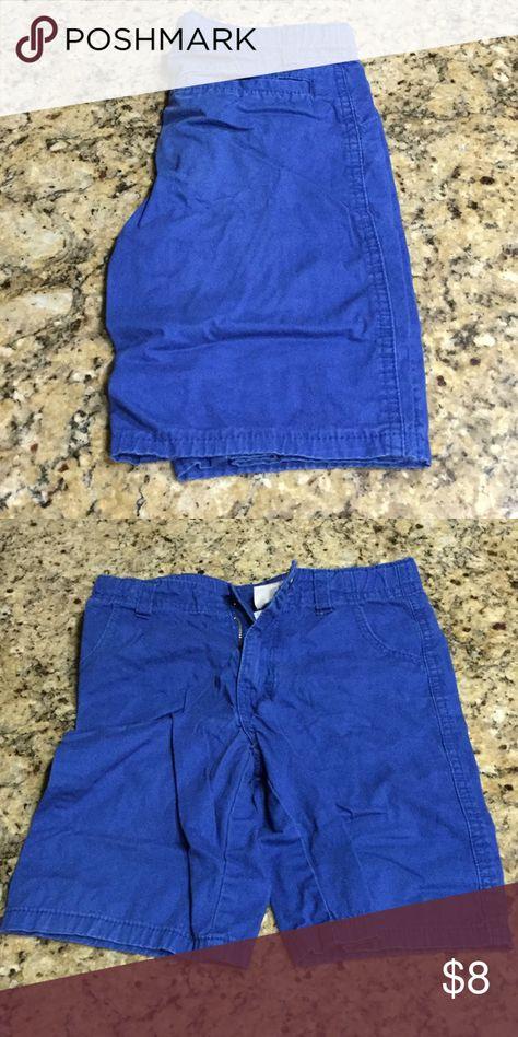 Cobalt blue boys shorts Adjustable waist band cobalt blue shorts Bottoms Shorts