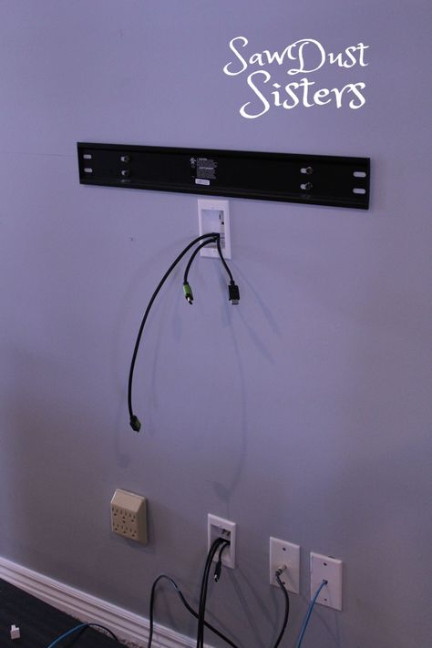 Hiding Wires Mounted Tv, Hide Tv Wires, Hide Tv Cables, Hiding Cables, Wall Mounted Tv Unit, Hiding Tv Cords On Wall, Tv Cord Cover, Corner Tv Wall Mount, Decor Around Tv