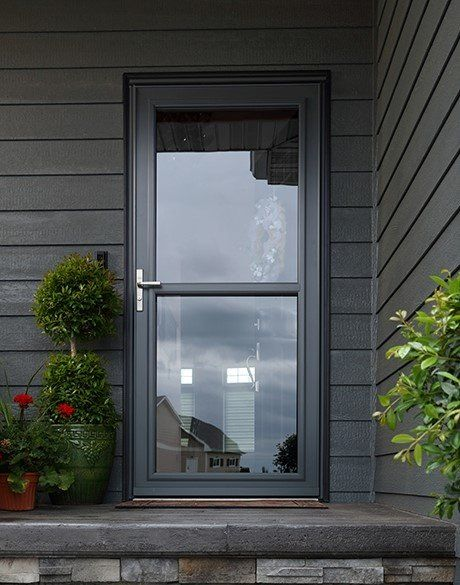 Andersen Storm Door 30 X 80 Interchangeable Glass 10 Series Zabitat
