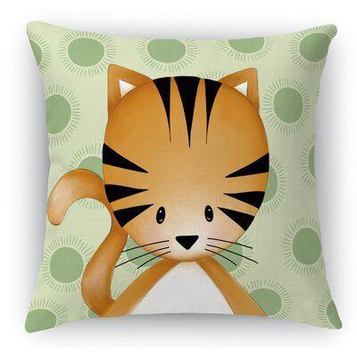 Isabelle Max Grenier Kitten Throw Pillow Throw Pillows Pillows Decorative Throw Pillows