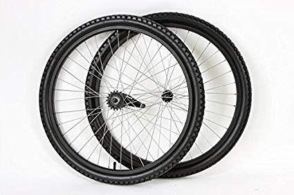 Mango 26 Inch Coaster Brake Wheel Set Beach Cruiser Bike Bicycle