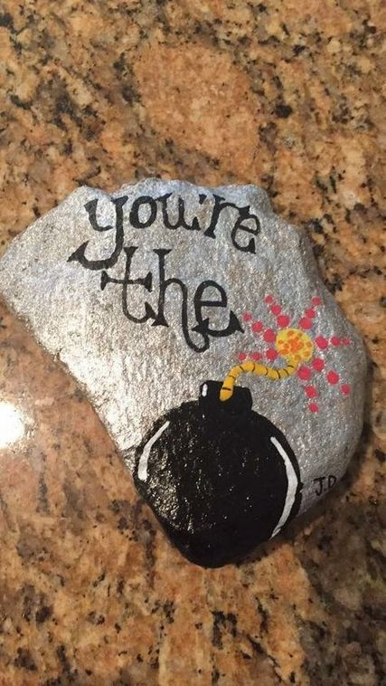Easy Diy Painted Rock Design Ideas 23 Rock Painting Ideas Easy