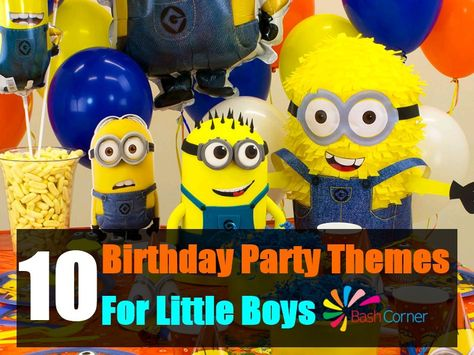 10 Charming Themes For A Little Boys Birthday Party