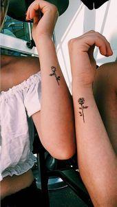 17 Ideas de tatuajes para las hermanas más unidas - #de #hermanas #Ideas #las #Más #PARA #tatuajes #unidas