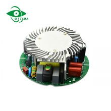 Constant Current Led Lighting Driver Power Supply 12v 6w 12w 15w 18w 20w 30w 50w 60w 80w Round Shape Led Driver Led Drivers Waterproof Led Led