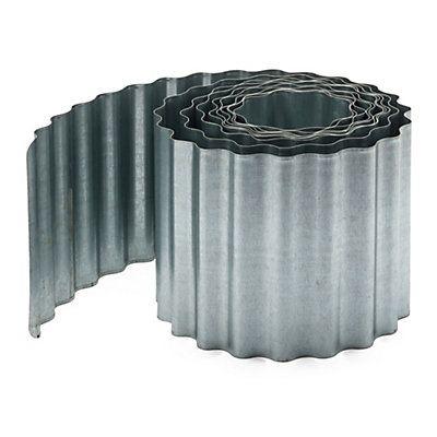 Corrugated Sheet Metal Lawn Edging Manufactum In 2020 Lawn Edging Metal Lawn Edging Metal Edging
