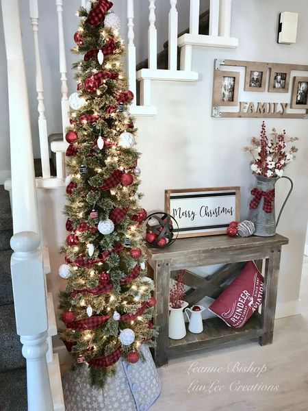 53 Last Minute Rustic Christmas Decorations To Make More Perfect Your Home - decorill.com