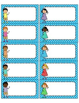 Free Editable Name Labels For School Books