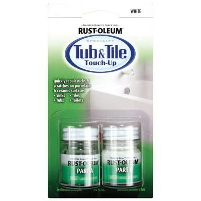 Bathtub Touch Up Paint.Rust Oleum 244166 Specialty Kit Tub And Tile Touch Up White