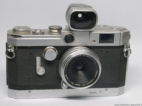 db2913fcaf Canon Vt Vintage cameras collection by Sylvain Halgand. 1956