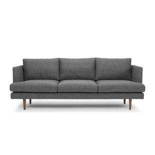 Simonne Modern Sofa Bed Allmodern Scandinavian Sofas Sofa Modern Furniture Living Room